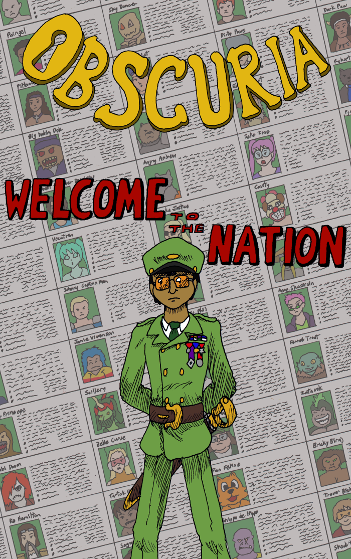 Welcome To The Nation Cover