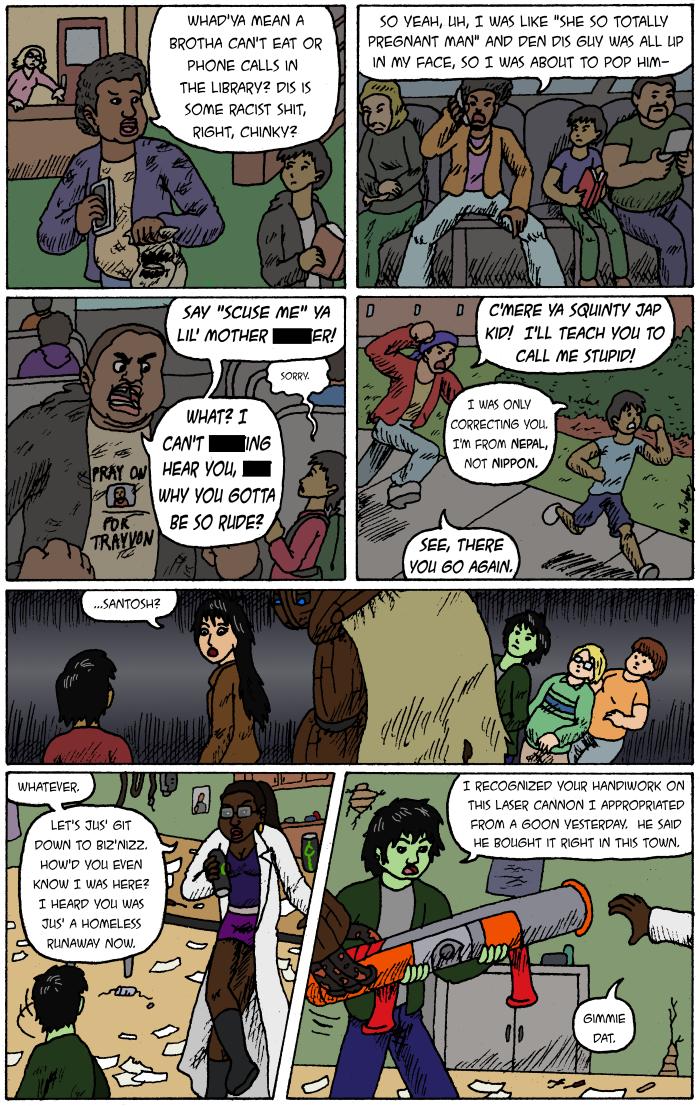 Black Science pg 2