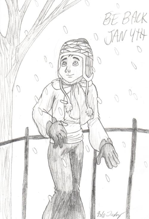 Christmas Sherpa Sketch